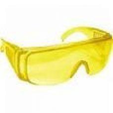 Очки защитные с дужками, желтые
