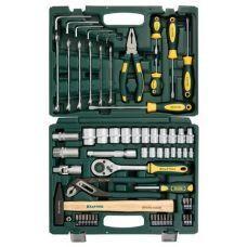 Набор инструмента  66 предметов KRAFTOOL 27976-Н66