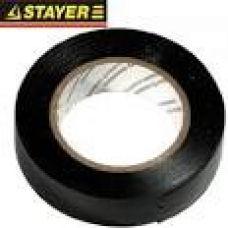 Изолента ПВХ STAYER черная 15 мм х 0,18 мм х 10 м 12292-D-15-10