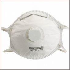 Полумаска техническая противоаэрозоль с клапаном STAYER упаковка 10 шт 11110-Н10