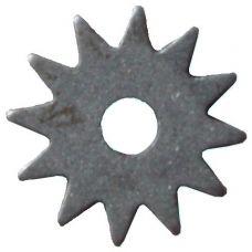 Шарошка острозубая диаметр 50х2х14 мм звездочка сталь 20 закаленная твердость 65HRC 29472/39621
