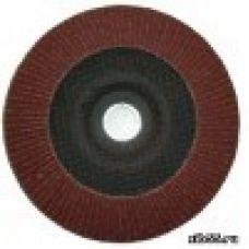 Круг лепестковый торцевой КЛТ 150х22 Р 80 (№20) тип 1 Луга