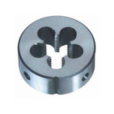 Плашка М 9х1,00 мм сталь 9ХС диаметр наружный 25 мм класс 6g