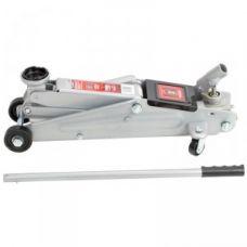 Домкрат гидравлический подкатной грузоподъемность 3,0 тонны высота 130-410 мм с поворотной ручкой MATRIX 510345