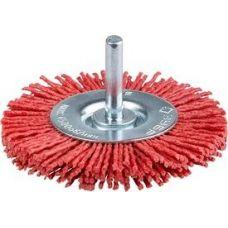 Щетка дисковая шпиль 100 мм абразивный нейлон ЗУБР 35161-100_z02