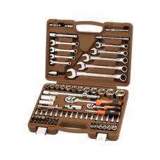 Набор инструмента  82 предметов 1/2, 1/4 дюйма размер 4-32 мм ключи OMBRA OMT82S