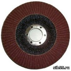 Круг лепестковый торцевой КЛТ 125х22 Р240 (№5) тип 1 Луга