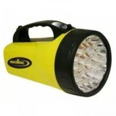 Фонарь-прожектор аккумуляторный LED+16хSMD2835 с солнечной панелью КОСМОС