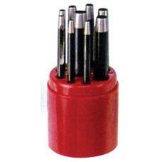 Набор пробойников  9 предметов размер от 2,5 мм до 10 мм LICOTA TAP-50042 TAP-50042