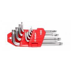 Ключи TORX комплект  9 шт Т10-Т50 STAYER/ЗУБР 27462-1_z01(z02)