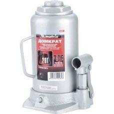 Домкрат гидравлический бутылочный грузоподъемность 20,0 тонн MATRIX 50731
