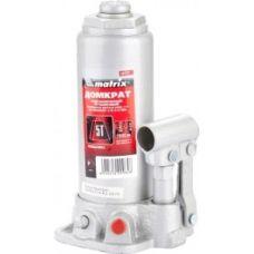 Домкрат гидравлический бутылочный грузоподъемность 5,0 тонн MATRIX 50721
