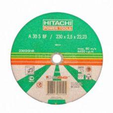 Круг абразивный отрезной 230х2,5х22 мм HITACHI ХИТАЧИ по металлу с25319