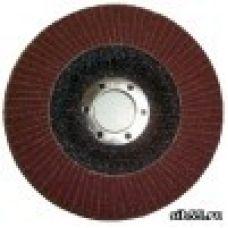 Круг лепестковый торцевой КЛТ 125х22 Р150 (№10) тип 1 Луга