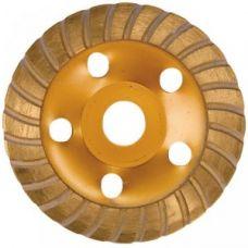 Чашка алмазная 125 мм Турбо MATRIX 72995