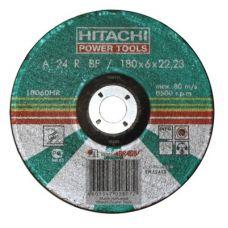 Круг абразивный зачистной 180х6х22 мм 24А HITACHI/HIKOKI с25921