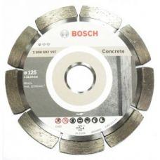 Диск алмазный 125х22,23 мм Stf Concrete BOSCH БОШ