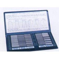 Набор образцов шероховатости поверхности Ra 0,05-12,5 мкм упаковка 30 штук 19694