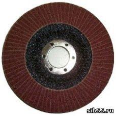 Круг лепестковый торцевой КЛТ 125х22 Р100 (№16) тип 1 Луга