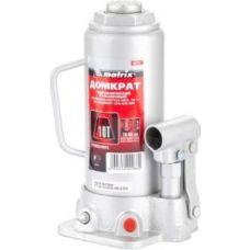 Домкрат гидравлический бутылочный грузоподъемность 10,0 тонны MATRIX 50725