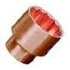 Головка торцевая размером 13 мм привод 1/2 дюйма ОМ омедненная (ВЗРЫВА НЕТ)