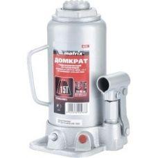 Домкрат гидравлический бутылочный грузоподъемность 15,0 тонн MATRIX 50729