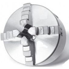 Патрон токарный 4-х кулачковый РОС 250 мм 7100-0035 К12 конус 6 FUERDA аналог ГРОДНО 49950