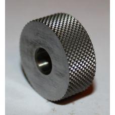 Ролик для накатки сетчатого рифления 20х9х6 мм шаг 0,8 мм угол 70 градусов универсальный