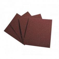 Шкурка бумажная в листах 230х280 мм Р 180 DENZEL упаковка 5 шт 75609
