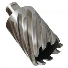 Сверло корончатое по металлу 32х30 мм сталь Т15К6 хвостовик Weldon 19