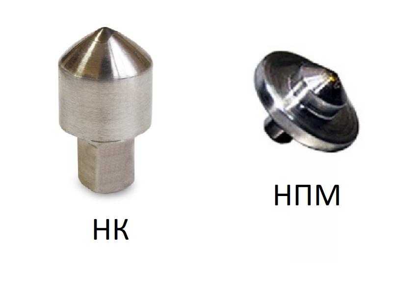 Расширение ассортимента наконечники алмазные НК и НПМ